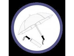 Белые складные зонты (33)