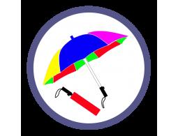 Складные зонты двух и более цветов (63)