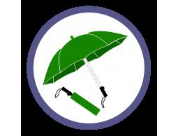 Зеленые складные зонты (33)