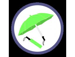 Складные зонты цвета Зеленое яблоко (15)