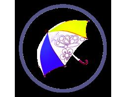 Детские зонты с полноцветным нанесением (Производство)