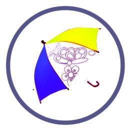 Детские зонты с полноцветным нанесением