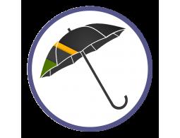Зонты трости с полноцветным нанесением (Производство)