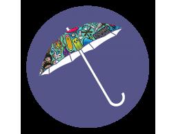 Готовые зонты с полноцветом (Производство)