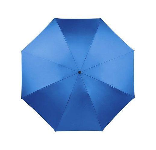 Зонт складной полуавтомат, ярко-синий