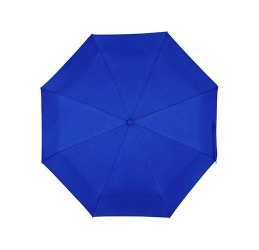 Зонт складной Ontario, автоматический, 3 сложения, с чехлом, темно-синий