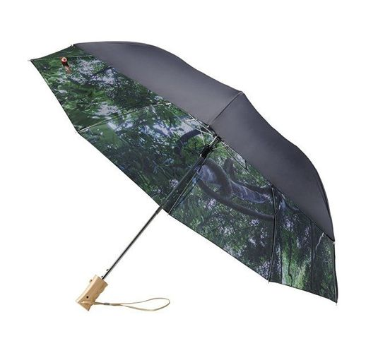 Зонт складной Forest, черный