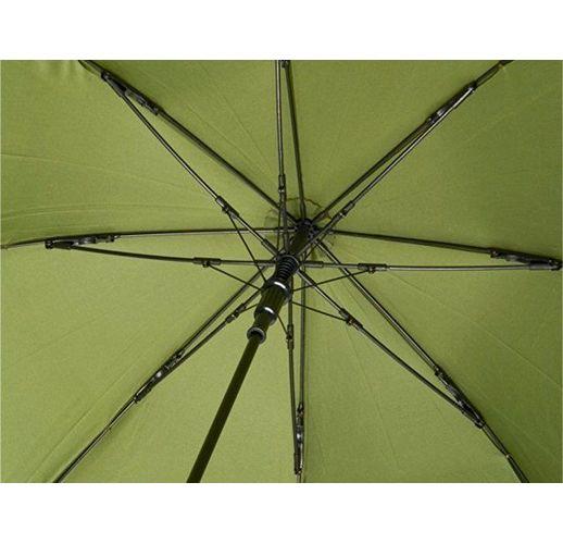 23-дюймовый ветрозащитный полуавтоматический зонт Bella, зеленый армейский