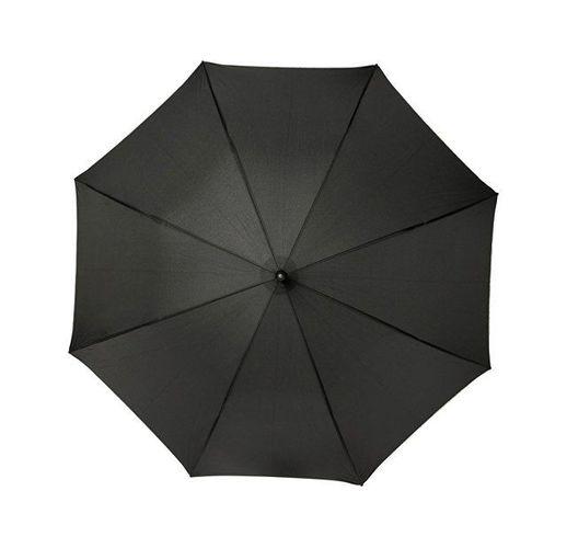 23-дюймовый ветрозащитный полуавтоматический зонт Felice, черный