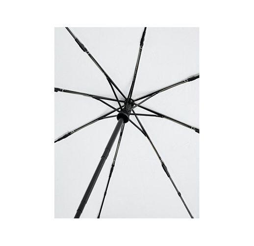 Автоматический складной зонт Bo из переработанного ПЭТ-пластика, белый