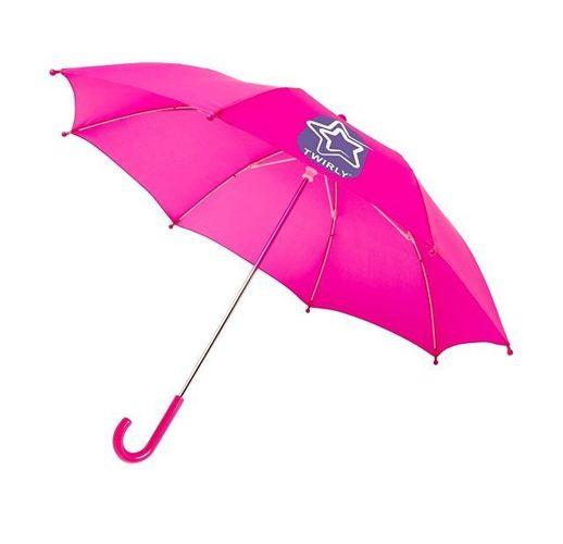 Детский 17-дюймовый ветрозащитный зонт Nina, фуксия