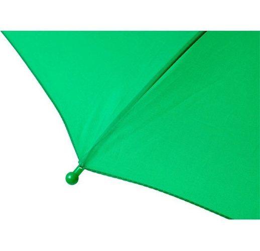 Детский 17-дюймовый ветрозащитный зонт Nina, зеленый светлый