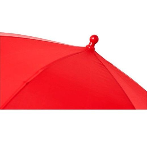 Детский 17-дюймовый ветрозащитный зонт Nina, красный