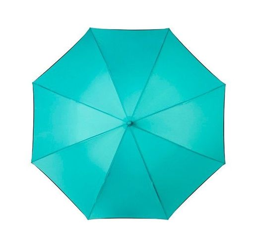Ветрозащитный автоматический цветной зонт Kaia 23,  мятный