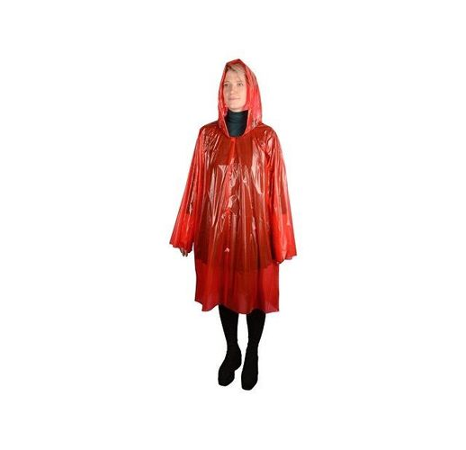 Дождевик Rainfall, красный