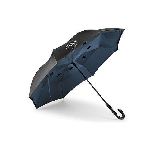ANGELA. Зонт обратного сложения, Синий