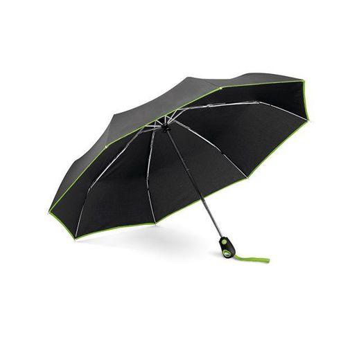 DRIZZLE. Зонт с автоматическим открытием и закрытием, Светло-зеленый