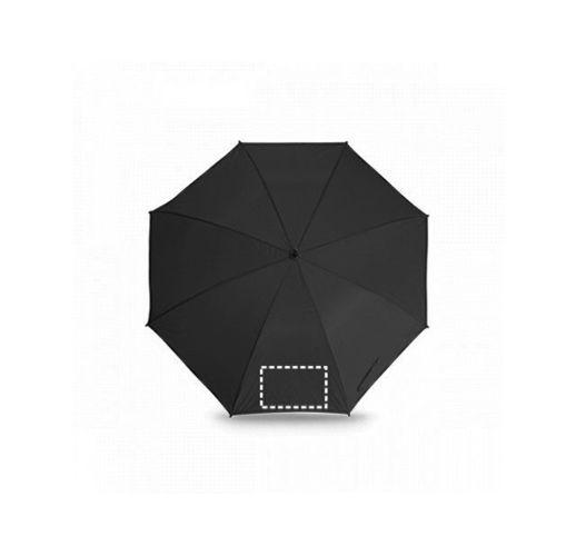 ROBERTO. Зонт для гольфа, Черный