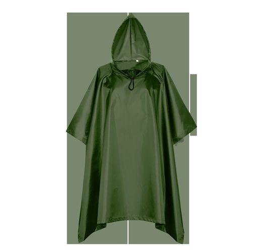 Дождевик, StanSun, цвет Тёмно-зелёный