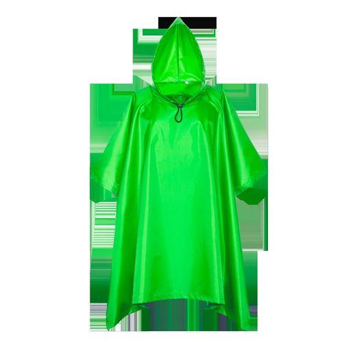 Дождевик, StanSun, цвет Ярко-зелёный