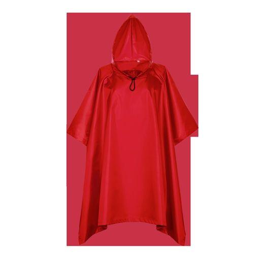 Дождевик, StanSun, цвет Красный