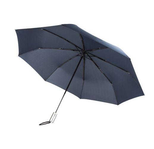 Зонт складной Unit Fiber, темно-синий