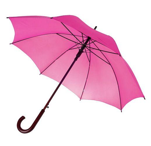 Зонт-трость Unit Standard, ярко-розовый (фуксия)