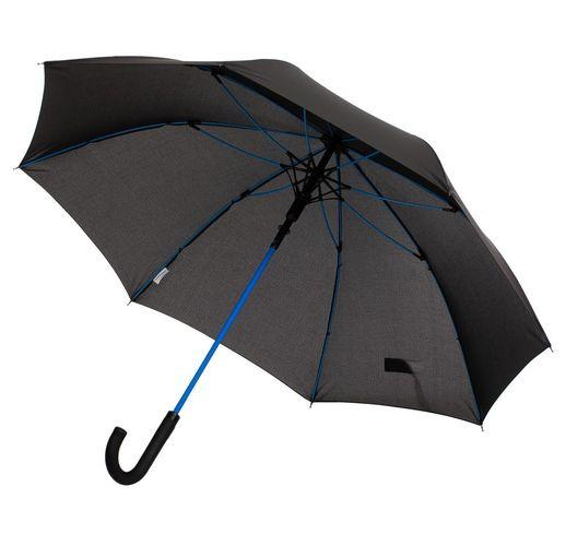 Зонт-трость с цветными спицами Color Power, синий