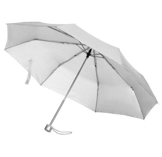 Зонт складной Silverlake, серебристый