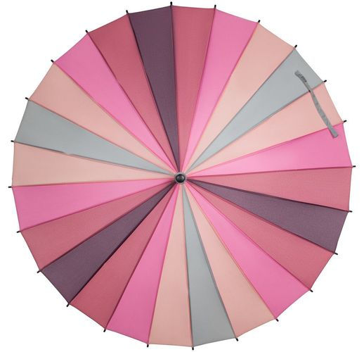 Зонт-трость «Спектр», розовый