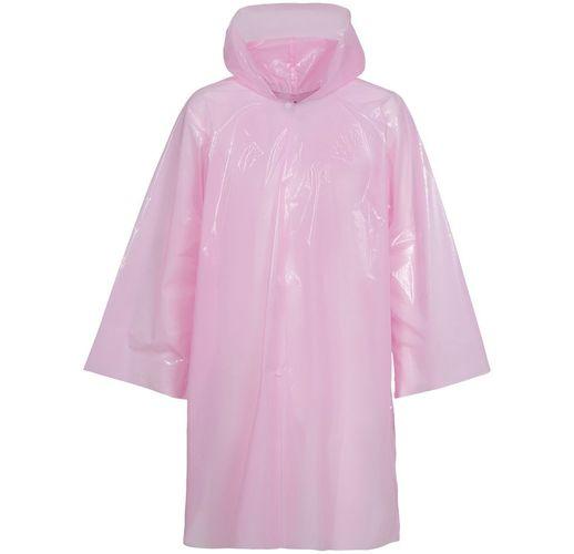 Дождевик-плащ CloudTime, розовый