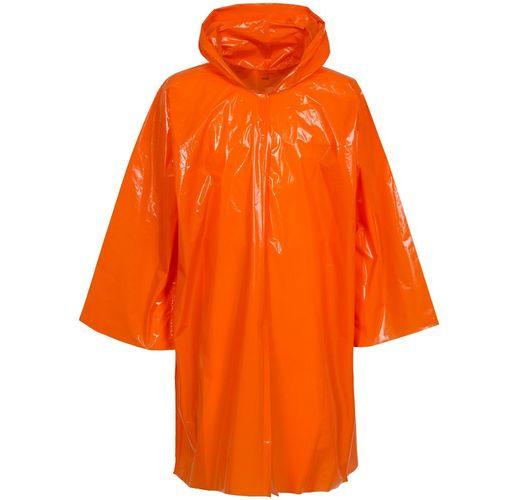 Дождевик-плащ CloudTime, оранжевый