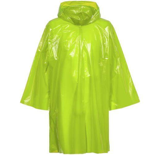Дождевик-плащ CloudTime, зеленое яблоко