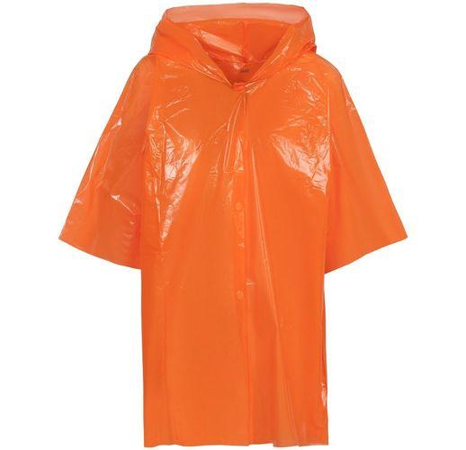 Дождевик-плащ детский BrightWay Kids, оранжевый