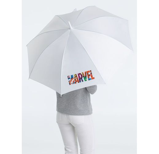 Зонт-трость Marvel Avengers, белый