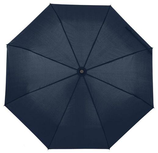 Зонт складной Monsoon, темно-синий