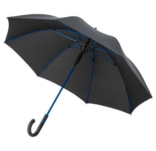 Зонт-трость с цветными спицами Color Style, ярко-синий