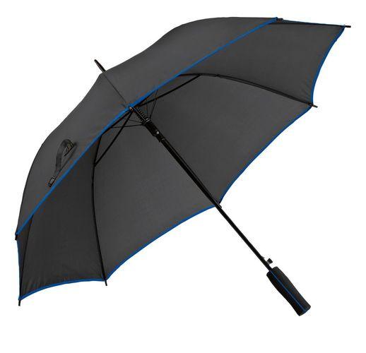 Зонт-трость Jenna, черный с синим