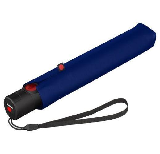 Складной зонт U.200, темно-синий