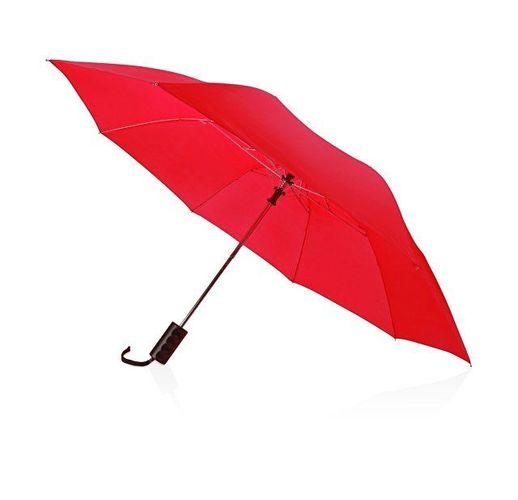 Зонт складной Андрия, ярко-красный