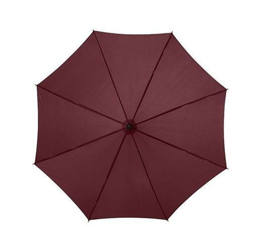 Зонт Kyle полуавтоматический 23, коричневый