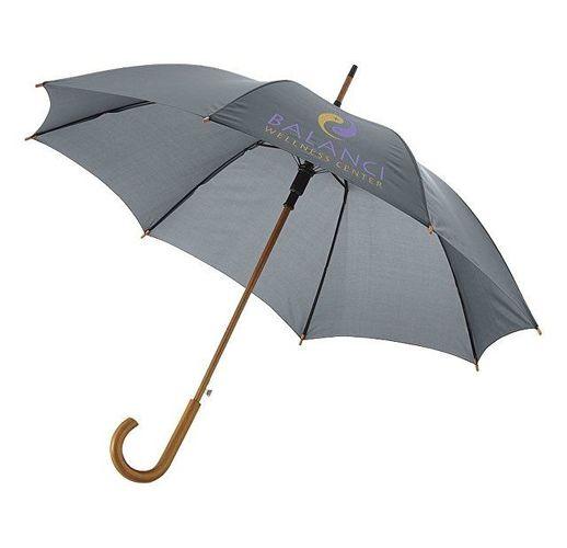 Зонт Kyle полуавтоматический 23, серый