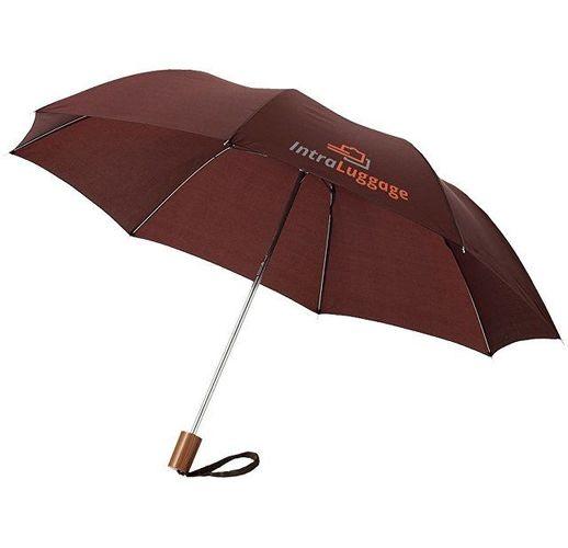 Зонт Oho двухсекционный 20, коричневый