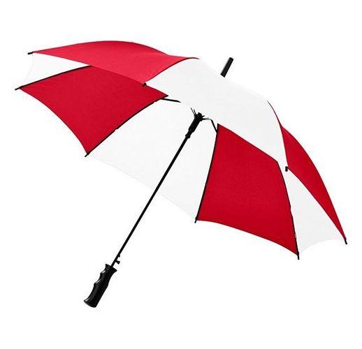Зонт Barry 23 полуавтоматический, красный/белый