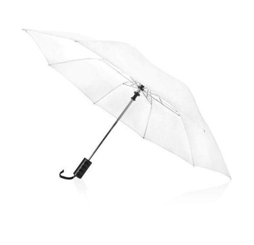 Зонт складной Андрия, белый
