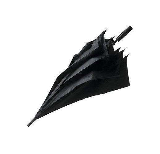 Зонт-трость  Grid City. Hugo Boss, черный