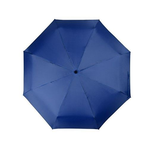Зонт складной Columbus, механический, 3 сложения, с чехлом, кл. синий