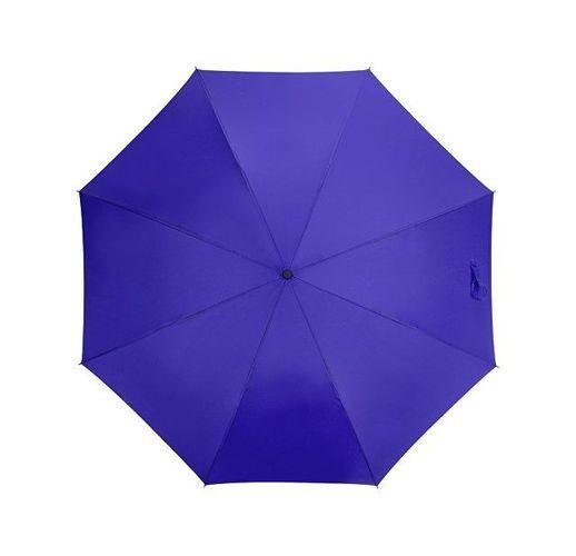 Зонт-трость Bergen, полуавтомат, темно-синий