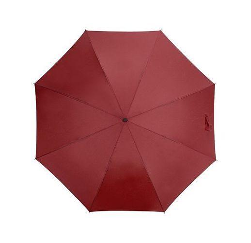 Зонт-трость Bergen, полуавтомат, бордовый