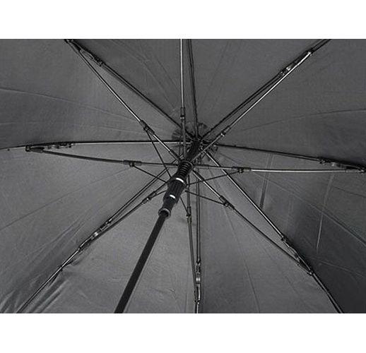 23-дюймовый ветрозащитный полуавтоматический зонт Bella, черный